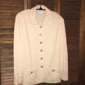 St. John Evening Cardigan